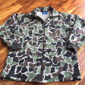 Adidas camouflage jacket size XS